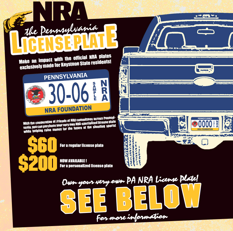 Friends of nra national rifle association for Buy tennessee fishing license